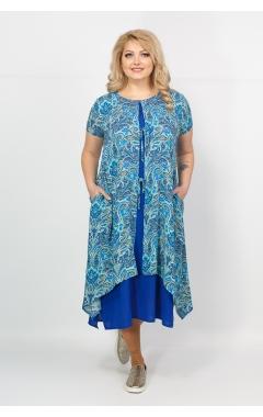 Платье Твинго (электрик)