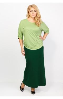 Юбка Вероника (зеленый)