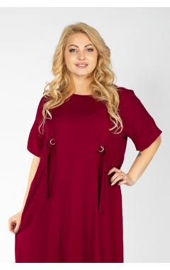 Платье Вирса (бордо)
