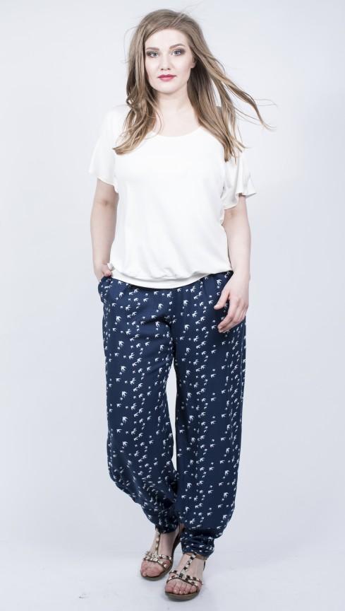 брюки-алладины для отпуска