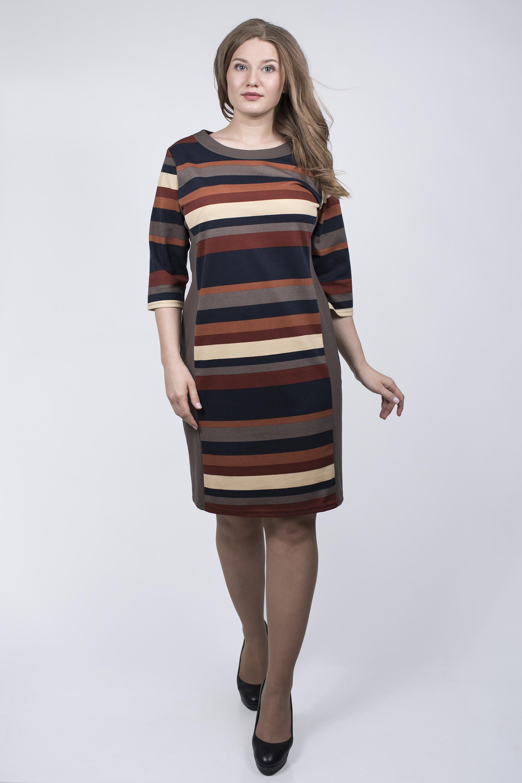 принт в одежде для полных женщин