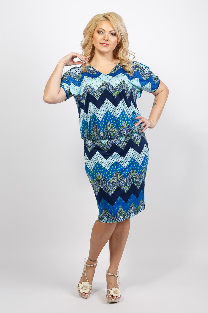 купить стильные платья для полных женщин