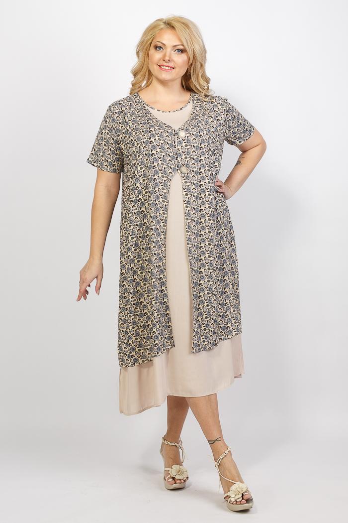 платья для полных женщин от производителя