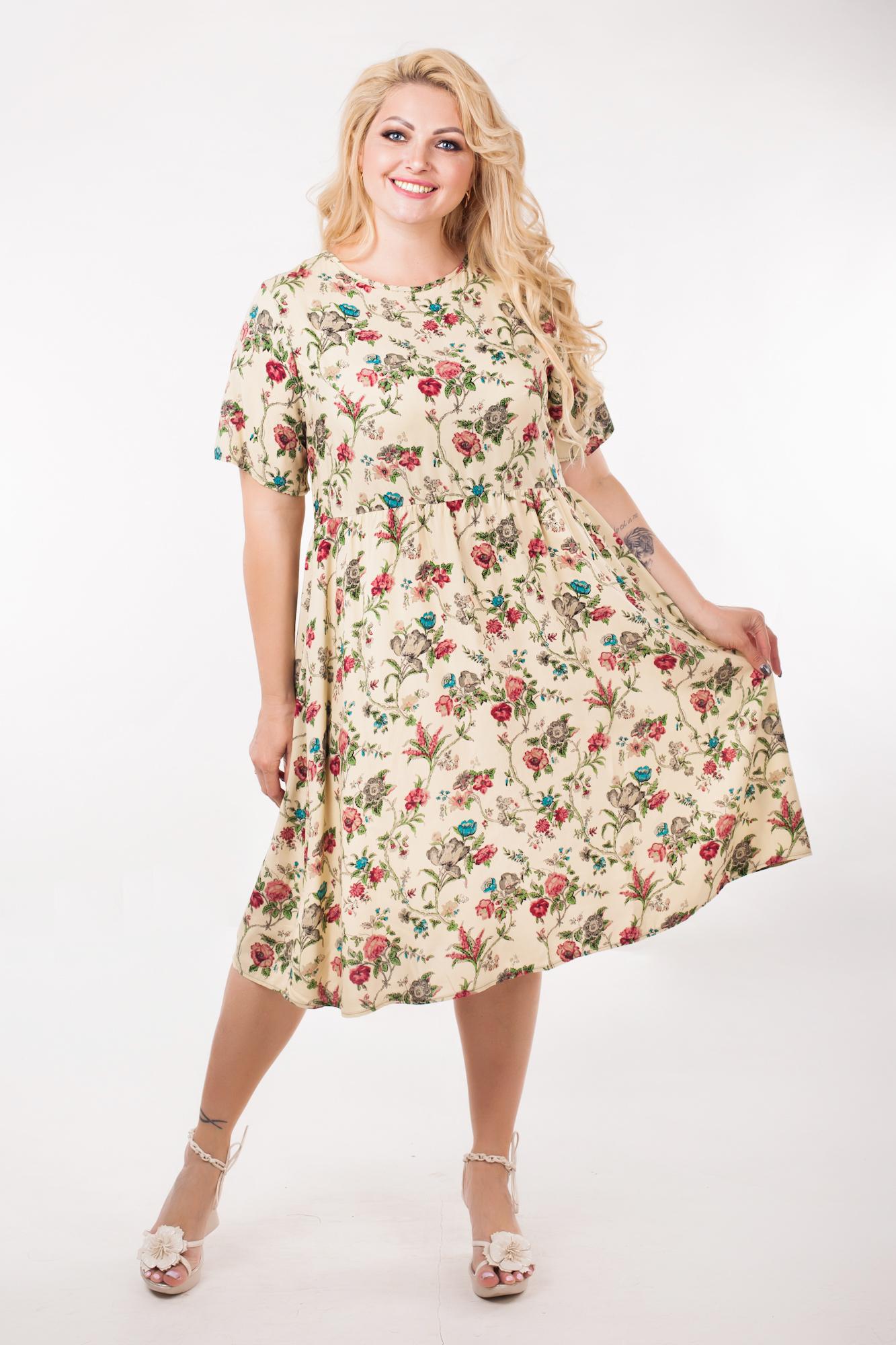 удобные и модные платья больших размеров