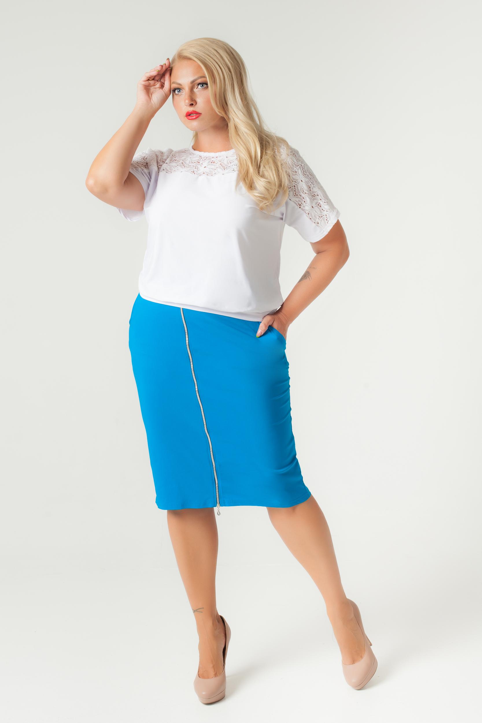 юбки больших размеров оптом