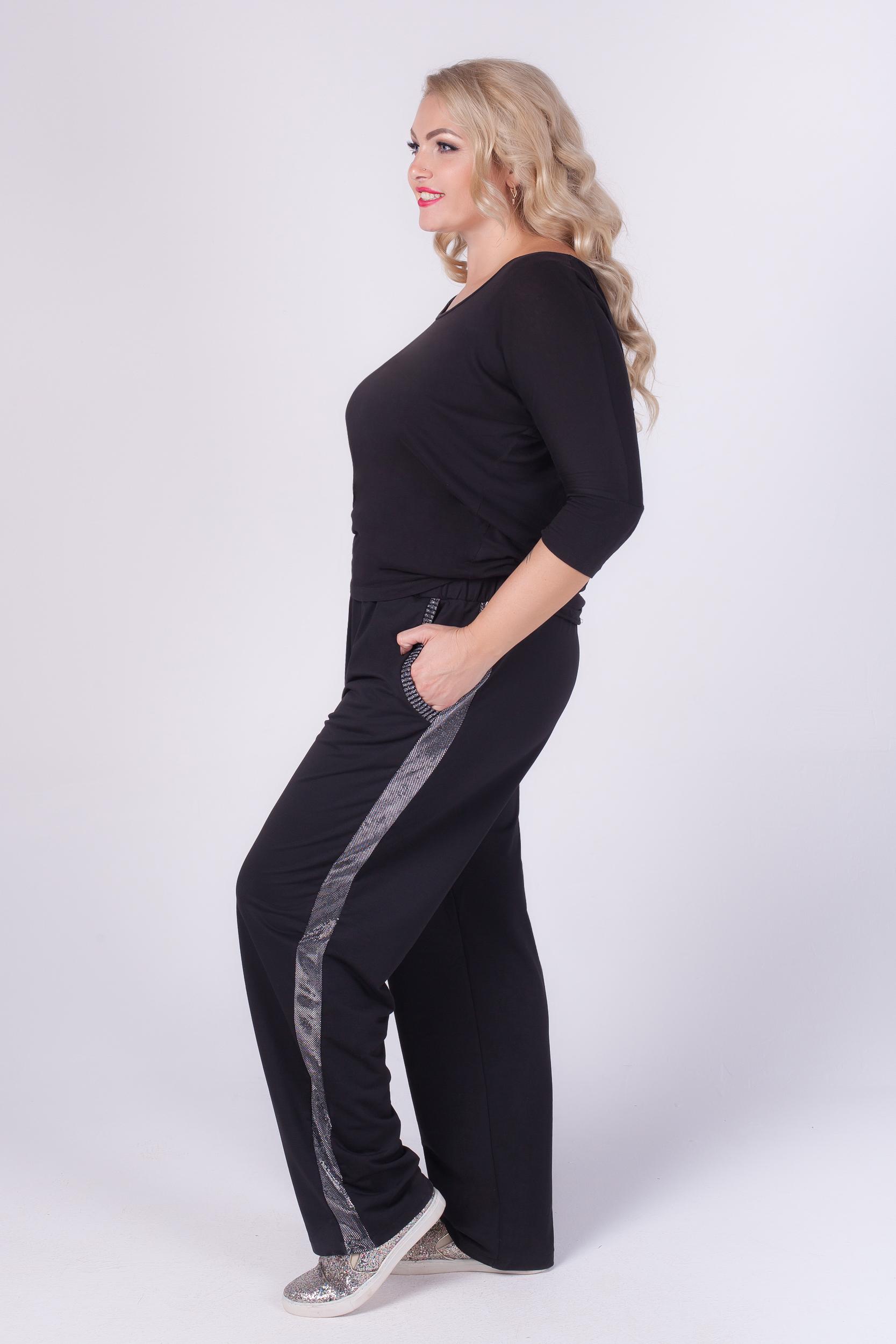 зимние брюки для полных женщин
