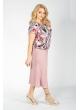 блуза Леся (принт/узор/розовый)