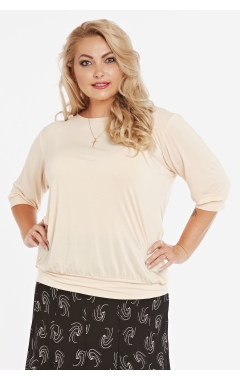 блуза Нина (бежевый)