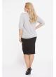 блуза Нина (серый)