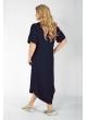 платье Вирса (темно-синий)