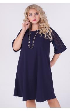 платье Барселона (тёмно-синее)