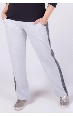 брюки Вена (серый меланж)