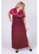 платье Ким Блеск (бордо)