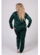 спортивный костюм Велюр (зелёный)