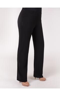 брюки Стразы (чёрный)
