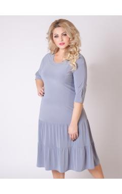 платье Лирика (серый)