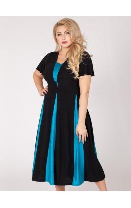 платье Фиеста (голубой)