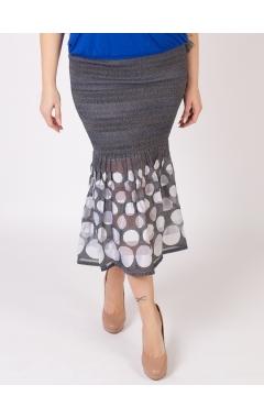 юбка Июнь2 (серый)