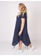 платье Сансара (синий/полоска)