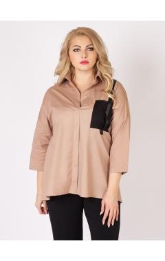 блуза Карман (капучино)