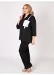 блуза Карман (чёрный)