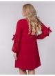 платье Милан (бордовый)