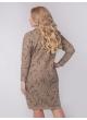 платье Ариша (бежевый/принт)