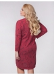 платье Ариша (красный/принт)