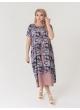 платье Твин2 (капучино/цветы)