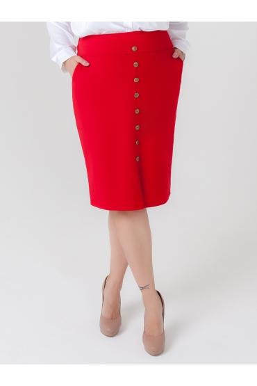 юбка Мадонна (красный)