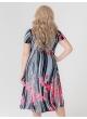 платье Флер Блеск (красный)