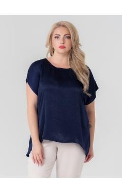 блуза Диана (тёмно-синий)