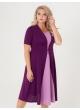 платье Челси (фуксия/розовый)