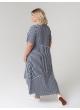 платье Кипр (полоска/синий)