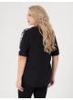блуза Флай (черный/бабочки)