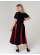платье Фиеста (чёрный/красный)