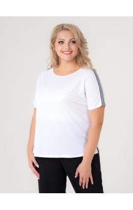 футболка Лампас (белый)