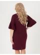 платье Сабина (бордовый)