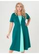 платье Челси (зелёный/мята)