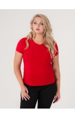 футболка Гипюр Бэк (красный)