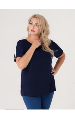 футболка Лампас (тёмно-синий)