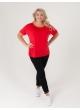 футболка Лампас (красный)