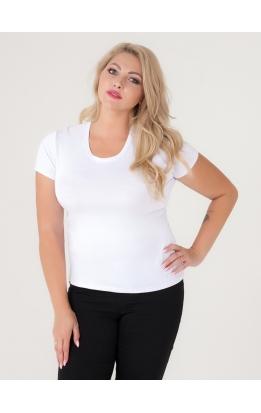 футболка Гипюр Бэк (белый)