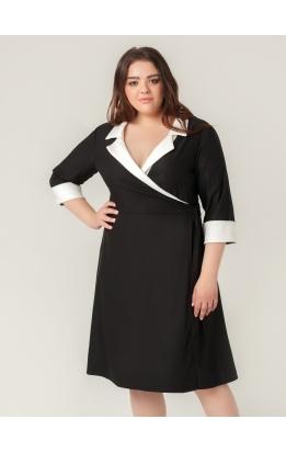 платье Орфей (чёрно-белый)