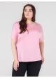 футболка Лампас (розовый)