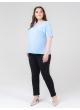 футболка Лампас (голубой)