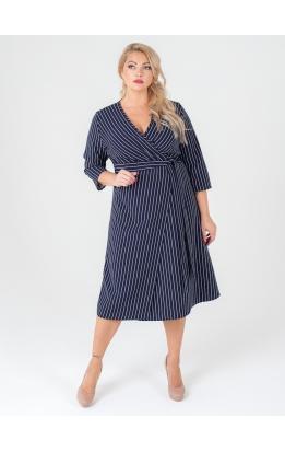 платье Альер (тёмно-синий)