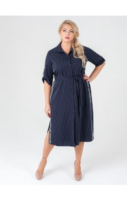 платье Тринити (тёмно-синий)