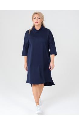 платье Джанго2 (тёмно-синий)