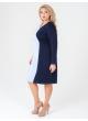 платье Дора (голубой/синий)